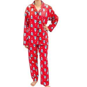 Women's Panda Print Pajama Set